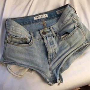Pants - High rise jean shorts